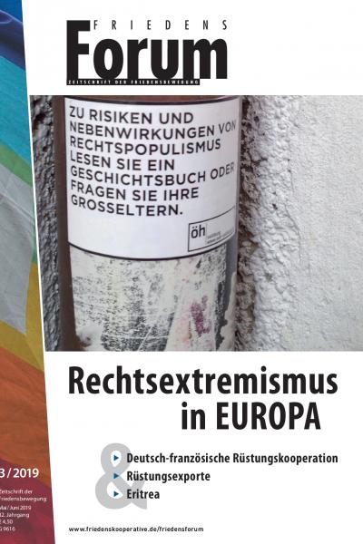 FriedensForum 3/2019 Cover