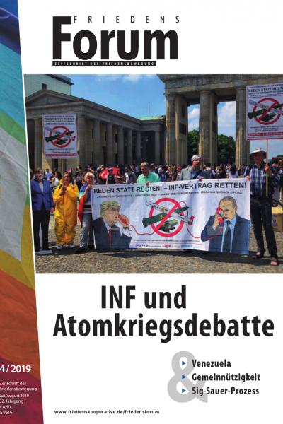 FriedensForum 4/2019 Cover