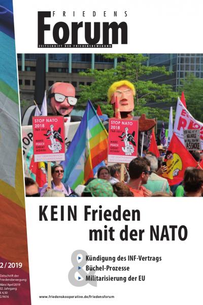 FriedensForum Cover 2/2019
