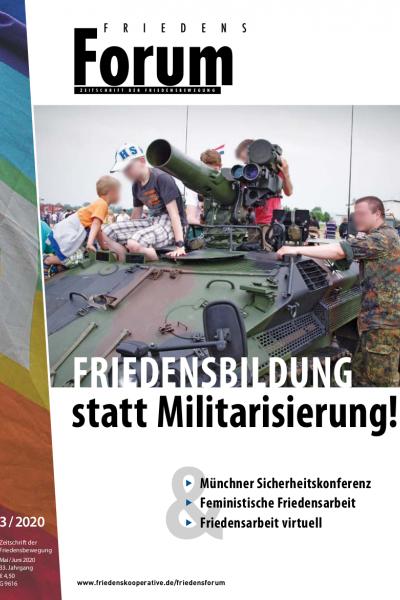 Cover FriedensForum 3/2020