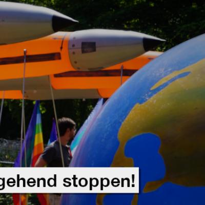 Atomkriegsübung Steadfast Noon umgehend stoppen!