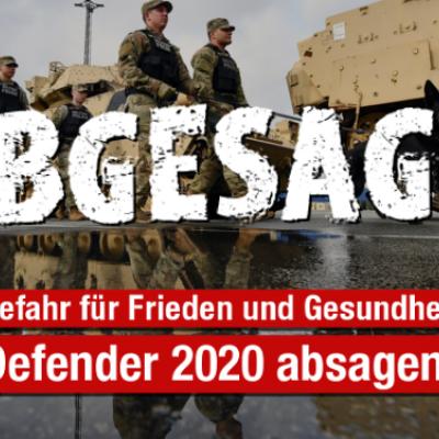 Defender 2020 wurde abgesagt!