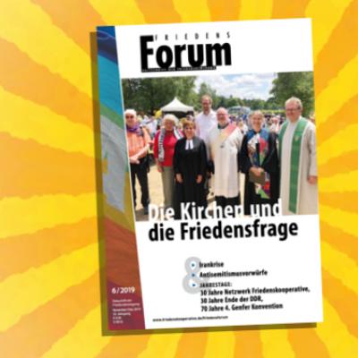 Halleluja: das neue FriedensForum ist da!
