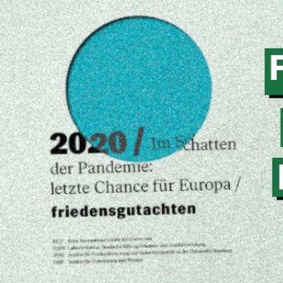 Friedensgutachten 2020: Wie geht Friedenspolitik in Zeiten des Klimawandels?