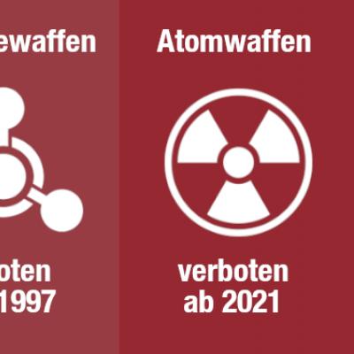 Der Atomwaffenverbotsvertrag tritt im Januar 2021 in Kraft