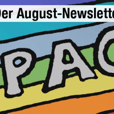 Der August-Newsletter 2019 ist da!