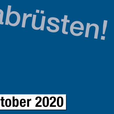 Header Newsletter Oktober 2020