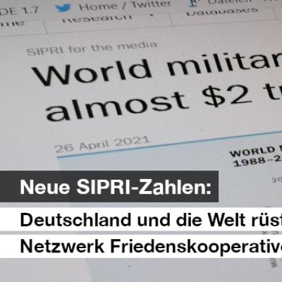 Pressestatement des Netzwerk Friedenskooperative vom 26.04.2021