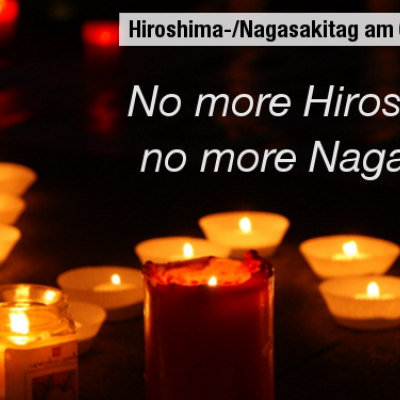 Hiroshima-/Nagasakitag 2019