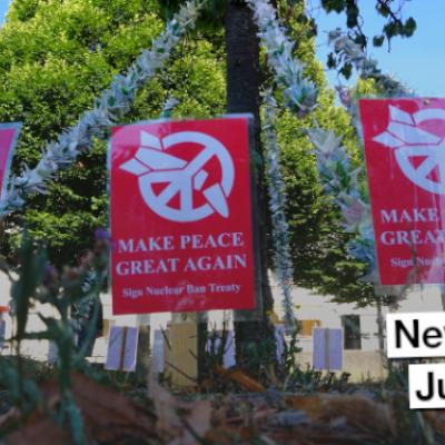 Newsletter des Netwerk Friedenskooperative August 2021