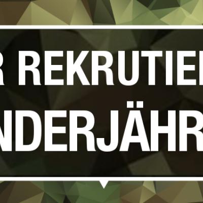 Die Bundeswehr rekrutierte auch 2018 Minderjährige