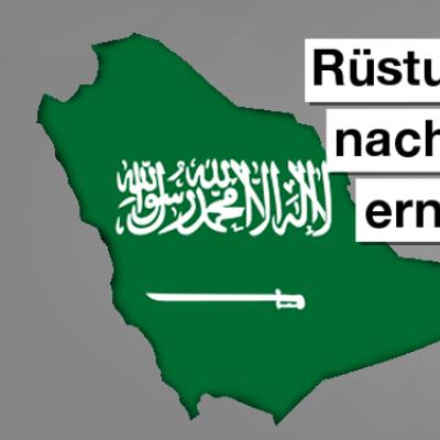 Protest wirkt: Rüstungsexportstopp nach Saudi-Arabien verlängert