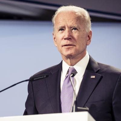 Joseph R. Biden Jr. während der Münchener Sicherheitskonferenz 2019