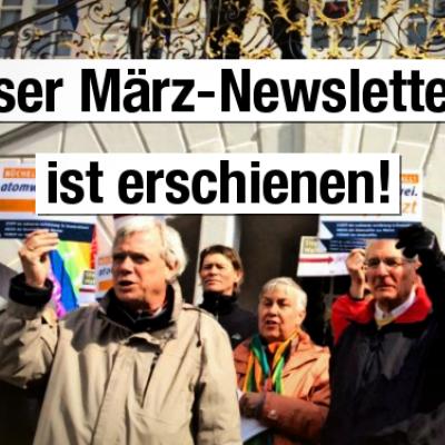 Newsletter Netzwerk Friedenskooperative März