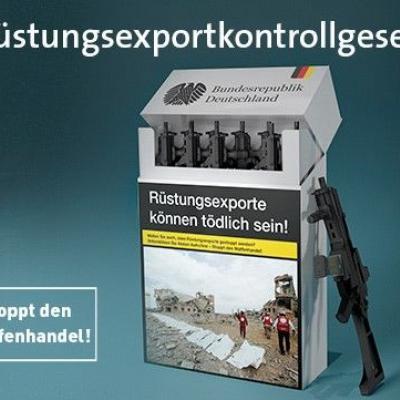 Rüstungsexportkontrollgesetz jetzt!