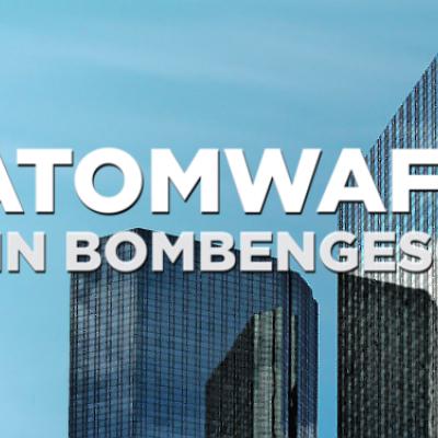 Mach mit: Fordere die Deutsche Bank, Commerzbank und Allianz auf, ihre Investitionen in Atomwaffen zu beenden.