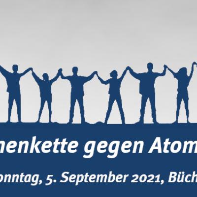 """Komm zur Menschenkette der Kampagne """"Büchel ist überall! atomwaffenfrei.jetzt"""""""
